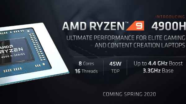 Amd Ryzen 9 4900h Mobile Gaming Cpu Officially Unveiled With Improved Base Clock Speed Gizbot News