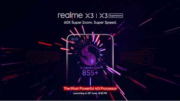 Realme X3 Series To Be Powered By Snapdragon 855 Processor