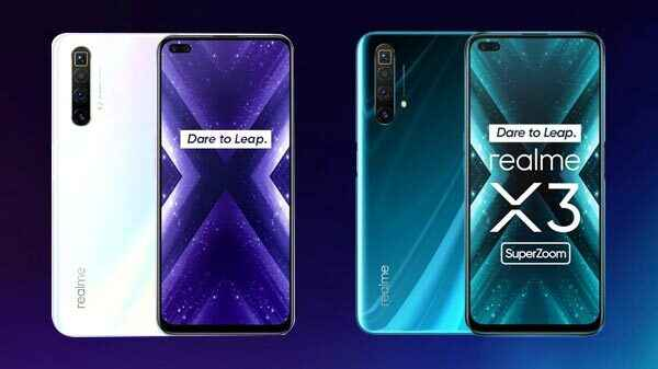 Realme X3 X3 Superzoom To Go On First Sale Today Price Offers