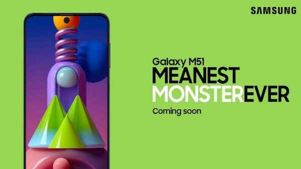 Samsung Galaxy M51 Teaser Page Goes Live On Amazon Ahead Of Launch Gizbot News