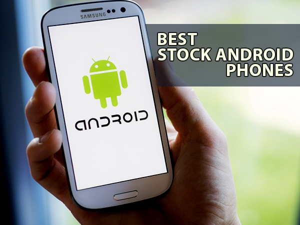 Best Stock Android Mobile Phones in India - September 2019