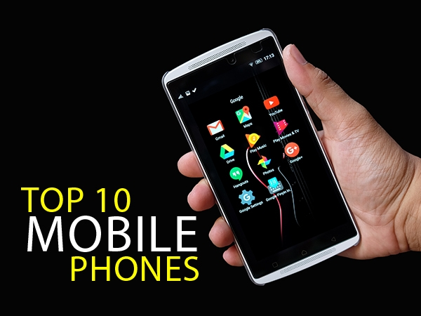 Top 10 Mobiles In India 2019 Best Mobile Phones Prices Gizbot