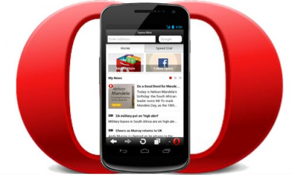 Opera 7 5 Mini for Android Gets 'Smart page' function update