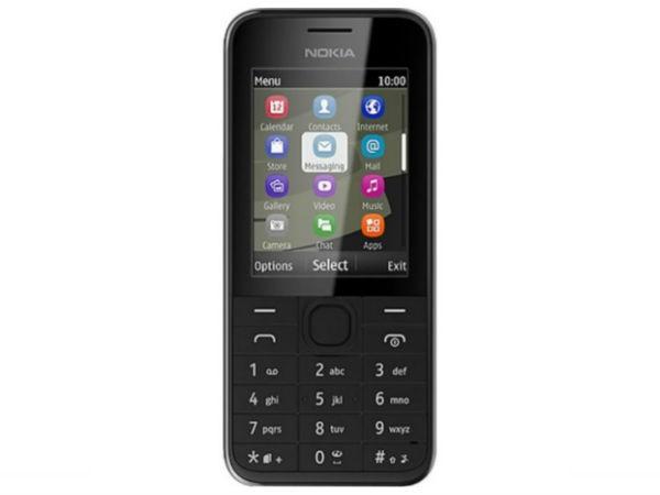 Nokia 208 (Black)