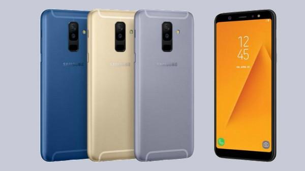 22% off on Samsung Galaxy A8 Plus (Cash Back offer worth Rs 40,00)