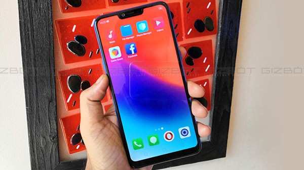 Display: 6.2-inch display with the infamous Notch