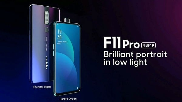 Oppo F11 Pro (MRP: Rs 28,990, Discount Price: Rs 24,990)