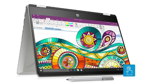 HP Pavilion x360 Core i3 8th Gen (EMI starts at Rs 2,024. No Cost EMI available)