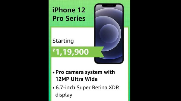 2% Off On New Apple iPhone 12 Pro Max