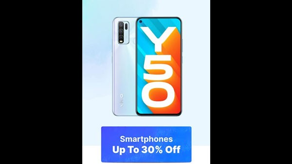 Up To 30% Off On Smartphones