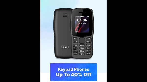 Up To 40% Off On Keypad Phones