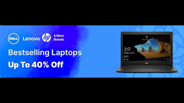 Up To 40% Off On Laptops