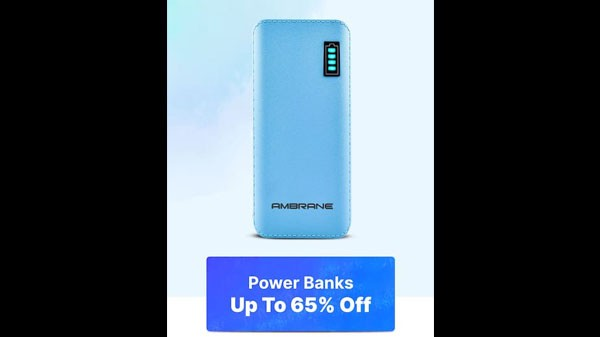 Up To 65% Off On Power Banks