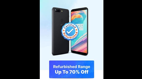 Up To 70% Off On Refurbished Devices