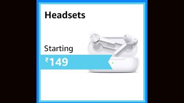 रुपये से शुरू होने वाले हेडसेट।  149