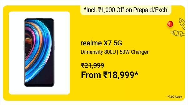 Realme X7 5G