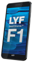 LYF F1 Black - 3GB Ram - 32GB Internal Memory with Android 6.0 Marshmallow
