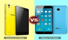 Lenovo K3 Note vs Meizu M2 Note: Which One is Worth Your Wallet ?