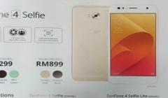 Asus ZenFone 4 Selfie Lite launched: Key features, specifications and more