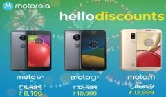 Motorola announces attractive price cut for Moto E4, Moto G5, Moto M, and Moto Z2 Play in India