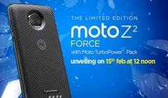Moto Z2 Force will be launched in India today: Watch the live stream here