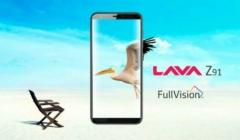 Lava Z91 with Face Unlock launched in India: Price, specifications and features