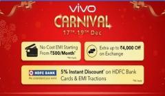 Flipkart Vivo Carnival offers: Grab the Vivo V9 Pro for just Rs 15,990 and more