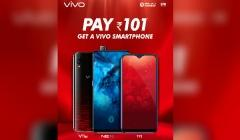 Get a new Vivo smartphone for Rs 101 under New Phone, New Year offer