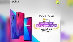 Realme 3i Confirmed To Launch On July 15th With MediaTek Helio P60 SoC