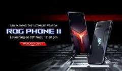 Asus ROG Phone II Launch Live Stream: World's First Smartphone With 120Hz AMOLED Display