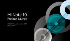 Xiaomi Mi Note 10 With 108MP Camera Set For November 6 Launch