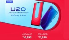 Vivo U20 Set To Go On First Sale At 12 PM Today In India Via Amazon: Price, Specs, And Offers