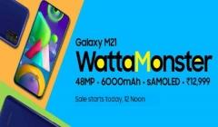 Samsung Galaxy M21 First Sale Today In India Via Amazon: Price And Offers