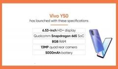 Vivo Y50 With Quad Cameras Launched: Price, And Specifications
