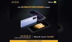 iQOO 3 With Revamped Price Up For Sale In India