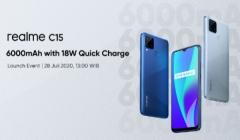 Realme C15 With Beefy 6000mAh Battery Launch Confirmed For July 28