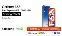 Samsung Galaxy F62 With Flagship 7nm Exynos 9825 Processor Goes On Sale With Irresistible Offers