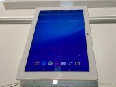 Sony Xperia Z4 Tablet First Look