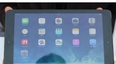 Apple iPad Air First Look
