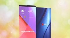 LG G Flex X Foldable Smartphone Concept Design