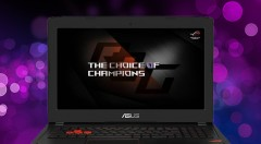 Asus ROG (GL502VM-FY230T) Windows 10-8GB RAM-1TB HDD-256GB SSD-Core i7 7th Gen-6 GB Graphics Card