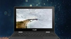 ASUS Chromebook Flip C214 Chrome OS-4GB RAM-32 eMMC-Intel Celeron Dual Core-Intel HD Graphics