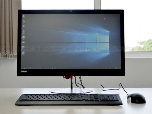 Lenovo ThinkCenter X1 review Images