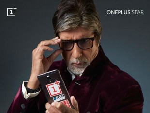 Amitabh Bachchan as the first-ever OnePlus Star Images