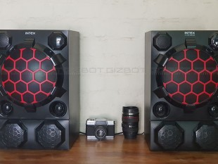 Intex 2.0 Channel DJ Speakers Reviews Images