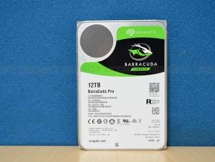 Seagate Barracuda Pro 12TB Review Images