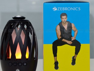 Zebronics Atom Bluetooth speaker Review Images