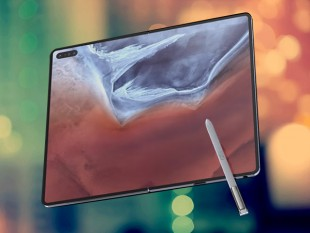 Samsung Galaxy Fold 2 Concept Design Images