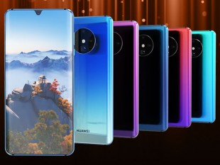 Huawei Mate 30 Pro Concept Deisgn Images